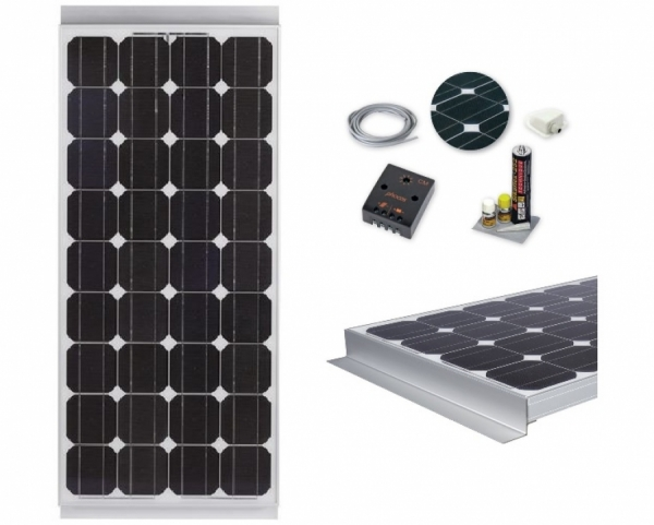 Kit Pannello Fotovoltaico 120W